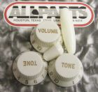 Knob Set for Fender Strat Parchment  PK-0178-050
